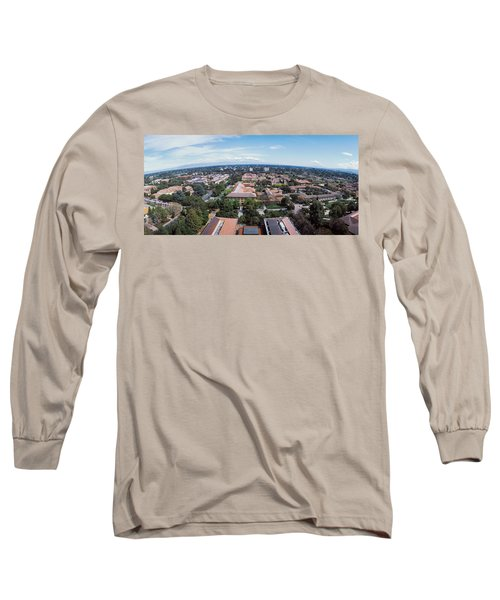 Aerial View Of Stanford University Long Sleeve T-Shirt