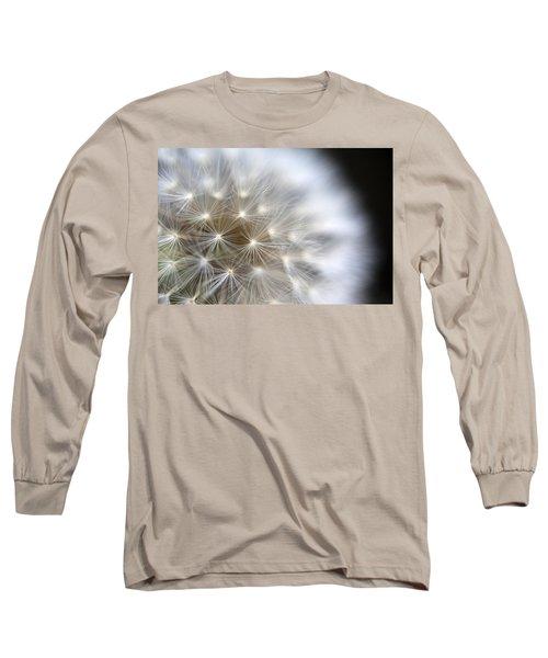 Dandelion Backlit Close Up Long Sleeve T-Shirt