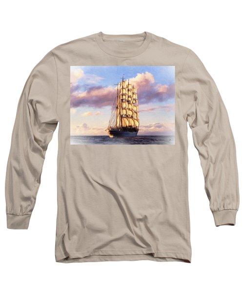 4 Mast Barque Long Sleeve T-Shirt