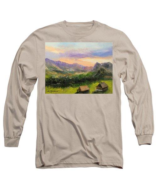 Tatry Mountains- Poland Long Sleeve T-Shirt