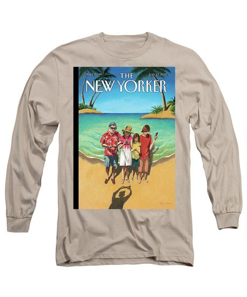 New Yorker July 23rd, 2012 Long Sleeve T-Shirt