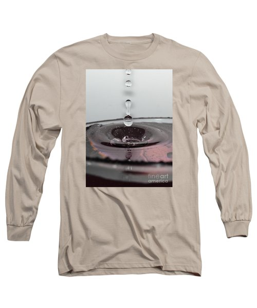 4 Water Drops Long Sleeve T-Shirt