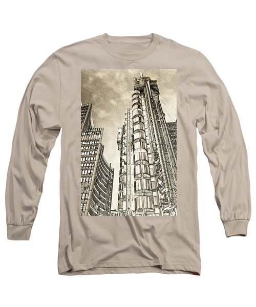 Willis Group And Lloyd's Of London Art Long Sleeve T-Shirt