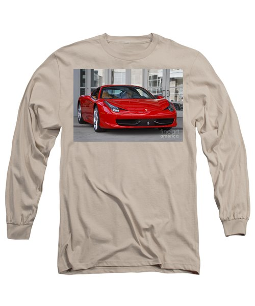458 Italia Long Sleeve T-Shirt by Dennis Hedberg