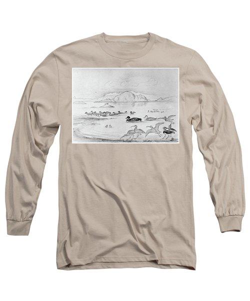Blackburn Birds, 1895 Long Sleeve T-Shirt