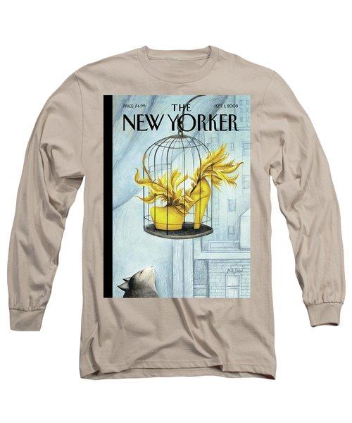 New Yorker September 1st, 2008 Long Sleeve T-Shirt