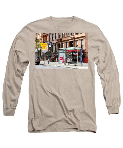 5th Ave And West 132nd Street Long Sleeve T-Shirt