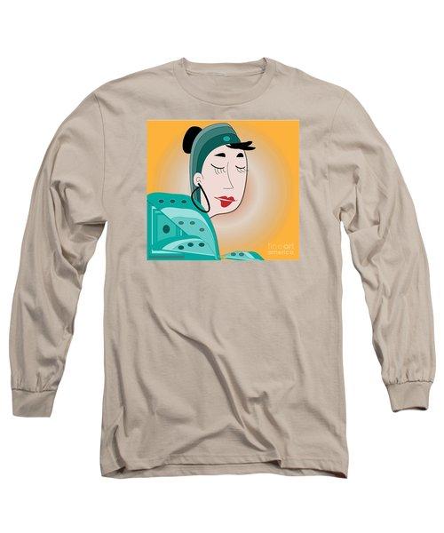 Long Sleeve T-Shirt featuring the digital art Dream by Iris Gelbart