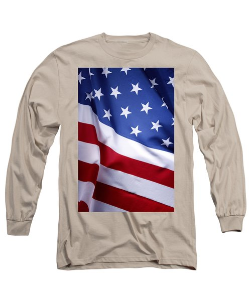 American Flag 50 Long Sleeve T-Shirt