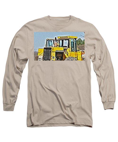 644e - Automotive Recycling Long Sleeve T-Shirt