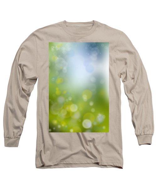 Abstract Circles 47 Long Sleeve T-Shirt