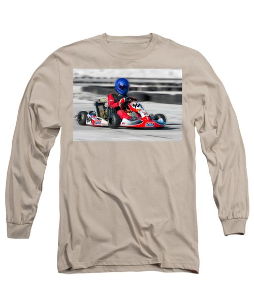 Racing Go Kart Long Sleeve T-Shirt