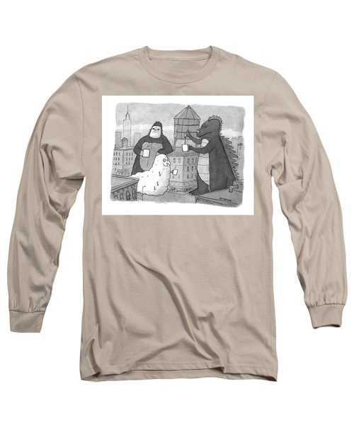 New Yorker March 16th, 2009 Long Sleeve T-Shirt