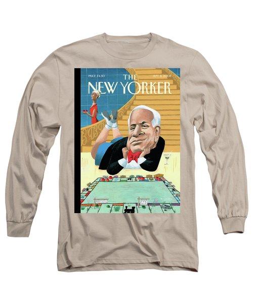 New Yorker September 8th, 2008 Long Sleeve T-Shirt