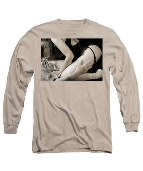 Young Couple Making Love Long Sleeve T-Shirt