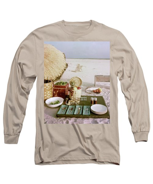 A Beach Picnic Long Sleeve T-Shirt
