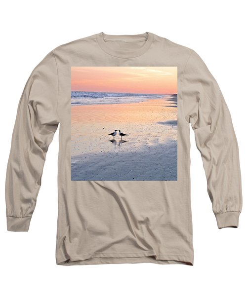 A Beach Romance Long Sleeve T-Shirt