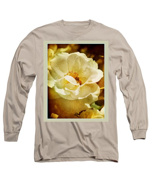 A Bee And Rose Long Sleeve T-Shirt