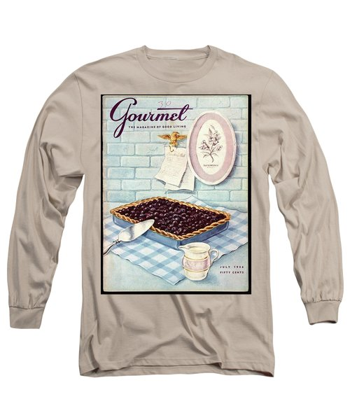 A Blueberry Tart Long Sleeve T-Shirt