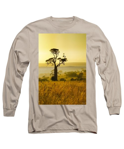 A Boab Sunrise Long Sleeve T-Shirt by Holly Kempe