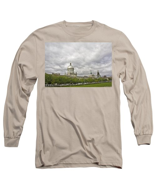 A Bonsecours Day  Long Sleeve T-Shirt