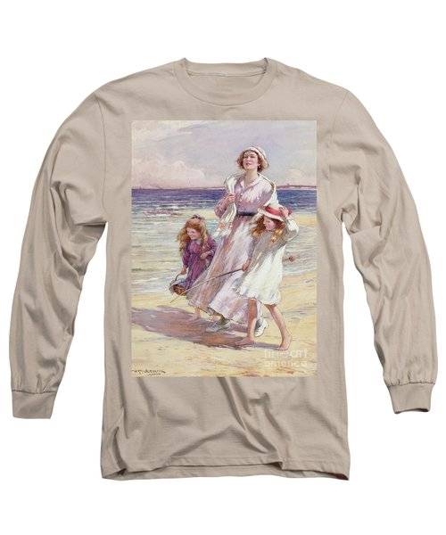A Breezy Day At The Seaside Long Sleeve T-Shirt