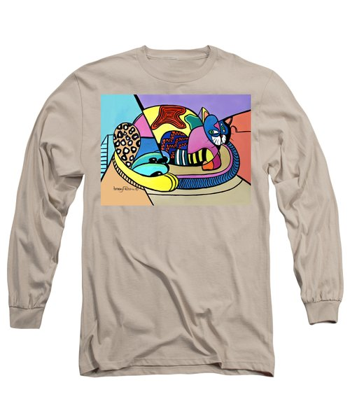 A Cat Named Picasso Long Sleeve T-Shirt