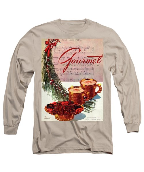 A Christmas Gourmet Cover Long Sleeve T-Shirt