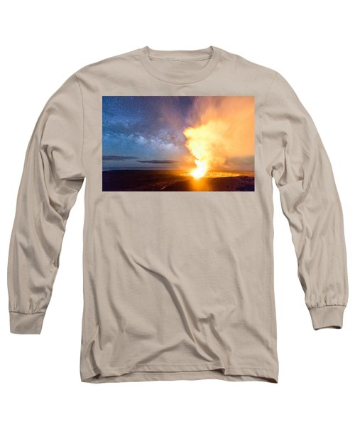 A Cosmic Fire Long Sleeve T-Shirt