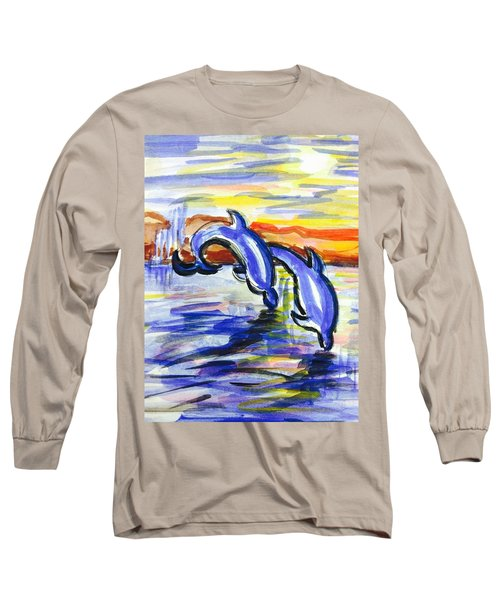 A Day At The Beach 4 Long Sleeve T-Shirt