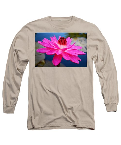 A Flower And A Dream... Long Sleeve T-Shirt