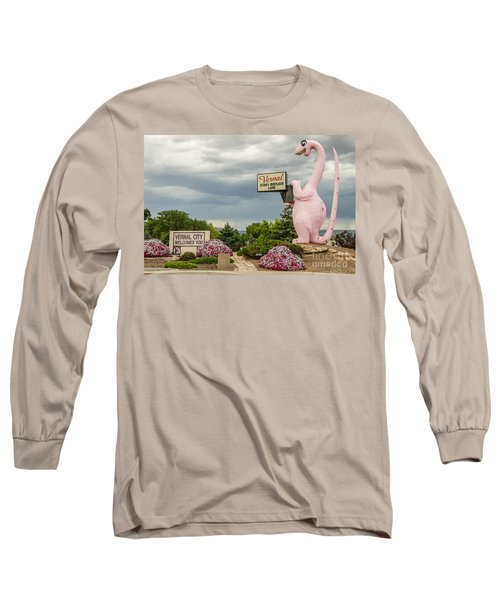 Long Sleeve T-Shirt featuring the photograph A Fun Welcome To Vernal by Sue Smith