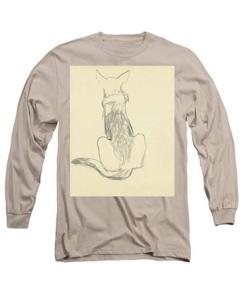 A German Shepherd Long Sleeve T-Shirt