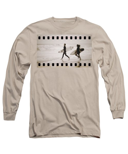 Long Sleeve T-Shirt featuring the photograph A Good Day To Surf by Alice Gipson