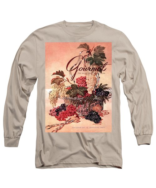 A Gourmet Cover Of Grapes Long Sleeve T-Shirt
