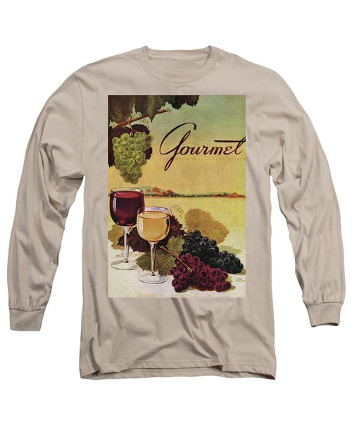 A Gourmet Cover Of Wine Long Sleeve T-Shirt