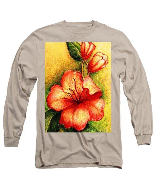A Harbinger Of Springtime Long Sleeve T-Shirt by Hazel Holland