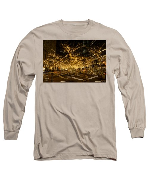 A Little Golden Garden In The Heart Of Manhattan New York City Long Sleeve T-Shirt