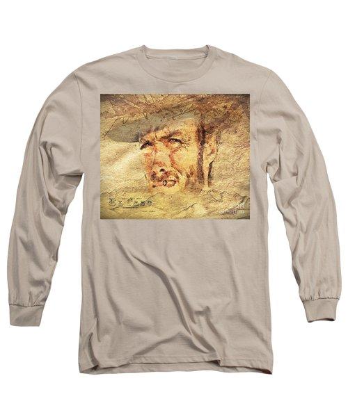 A Man With No Name Long Sleeve T-Shirt