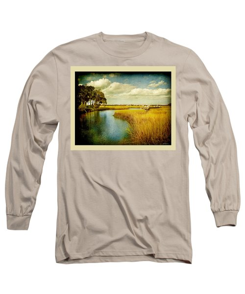 A Melancholy Afternoon Long Sleeve T-Shirt