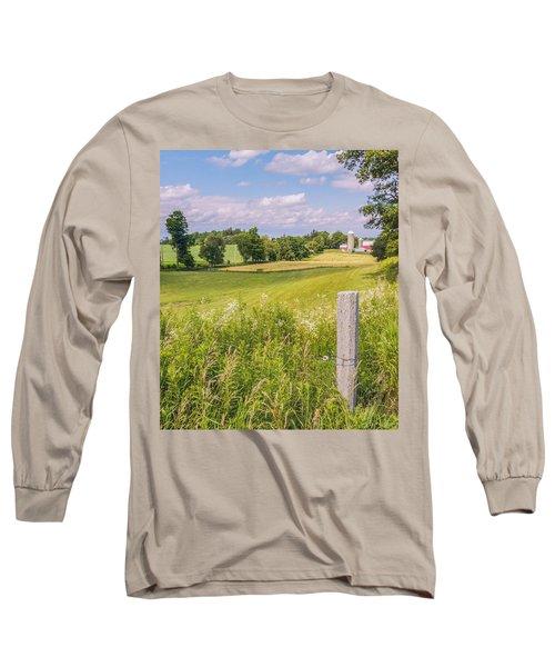 A Nation's Bread Basket  Long Sleeve T-Shirt