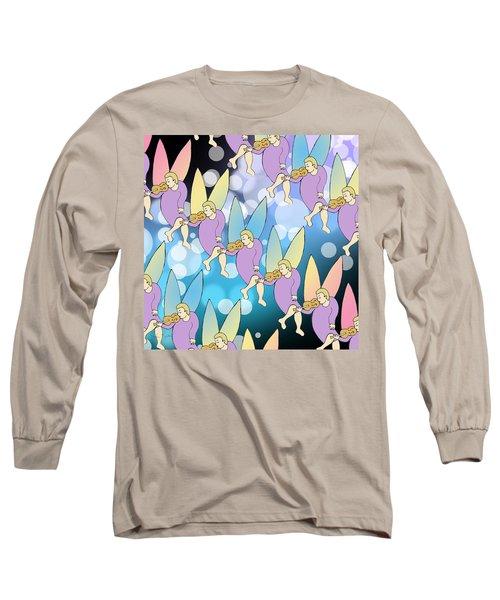 A Night In Monte Carlo Long Sleeve T-Shirt by John Keaton