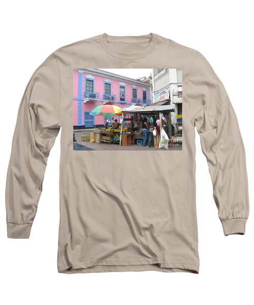 A Pop Of Tropical Color Long Sleeve T-Shirt
