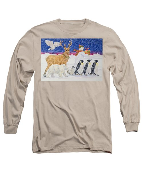 A Present For Santa  Long Sleeve T-Shirt