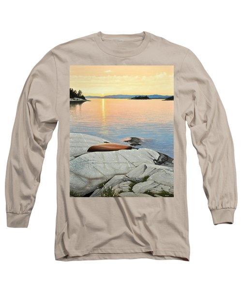 A Quiet Time Long Sleeve T-Shirt