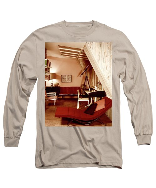 A Red Living Room Long Sleeve T-Shirt