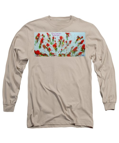 A Red Red Rose Long Sleeve T-Shirt