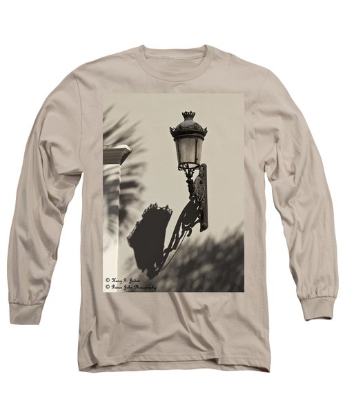 A Reflection On Illumination Long Sleeve T-Shirt