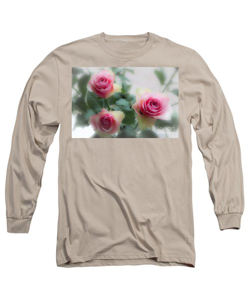 A Rose And A Rose And A Rose Long Sleeve T-Shirt