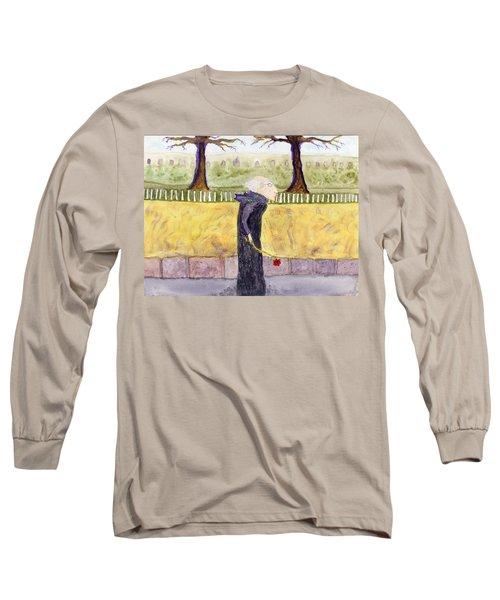 A Rose For My Dear Long Sleeve T-Shirt